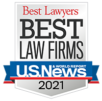 US News and World Report - Best Law Firms 2021